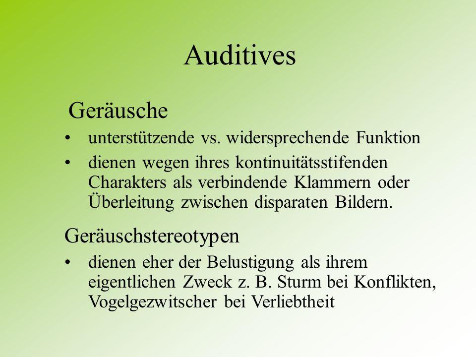 Auditives Geräusche Geräuschstereotypen