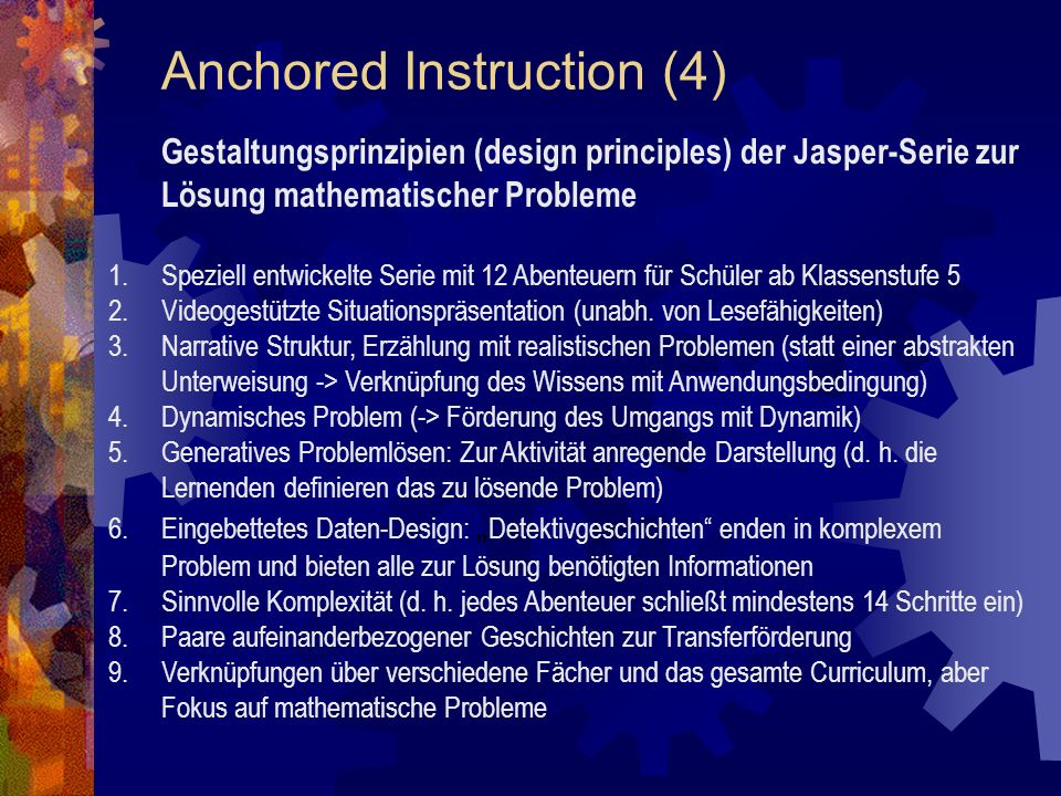 Anchored Instruction (4)