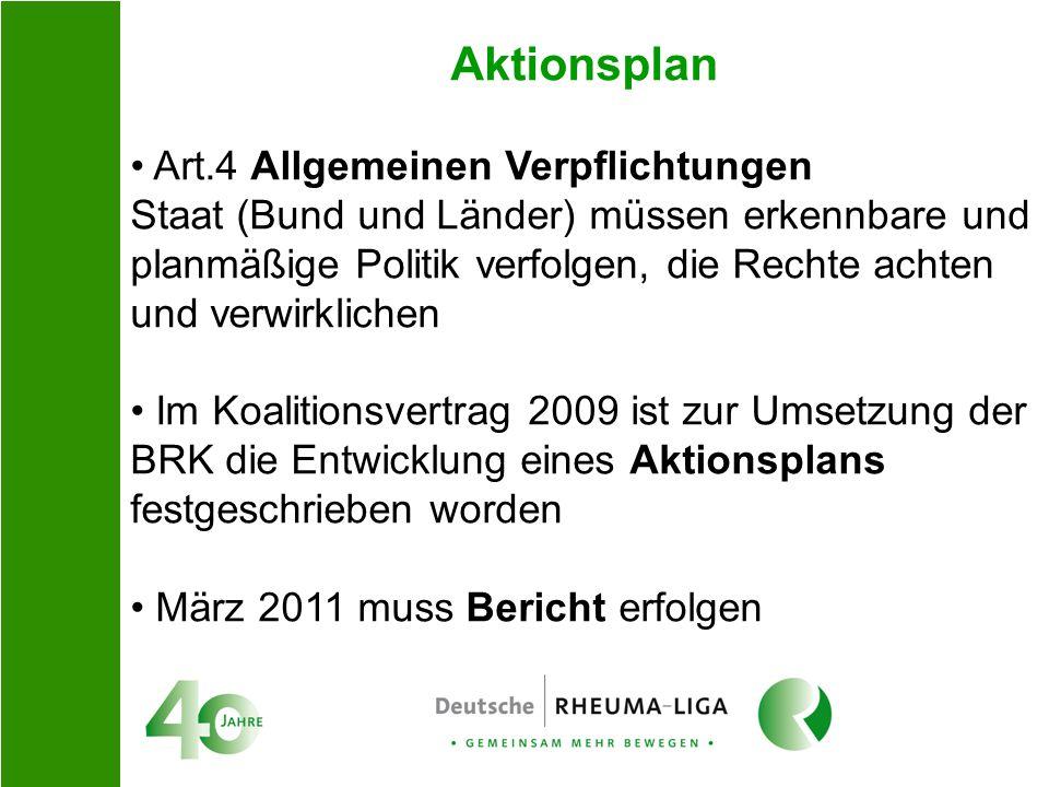 Aktionsplan Art.4 Allgemeinen Verpflichtungen