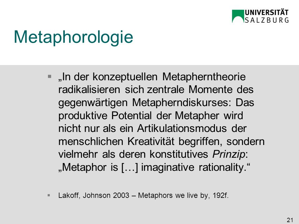 Metaphorologie