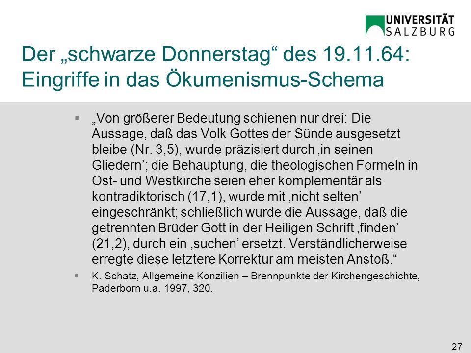"""Der """"schwarze Donnerstag des 19. 11"""