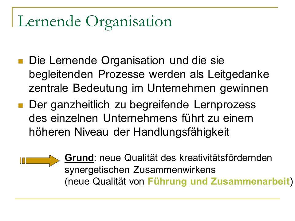 Lernende Organisation