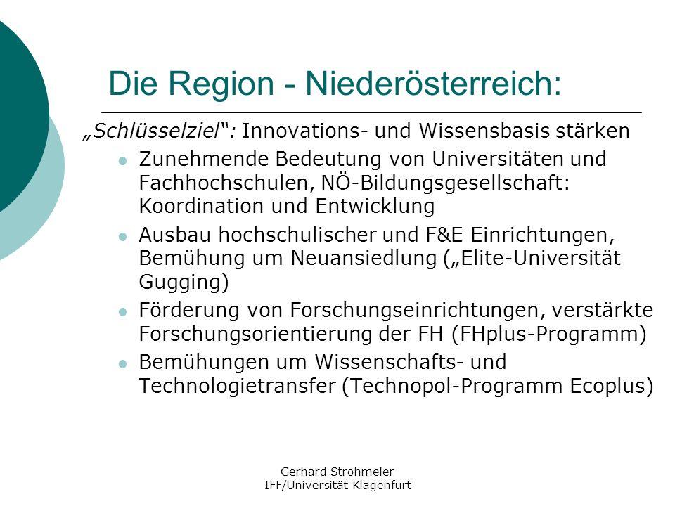 Die Region - Niederösterreich: