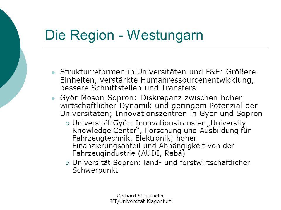 Die Region - Westungarn