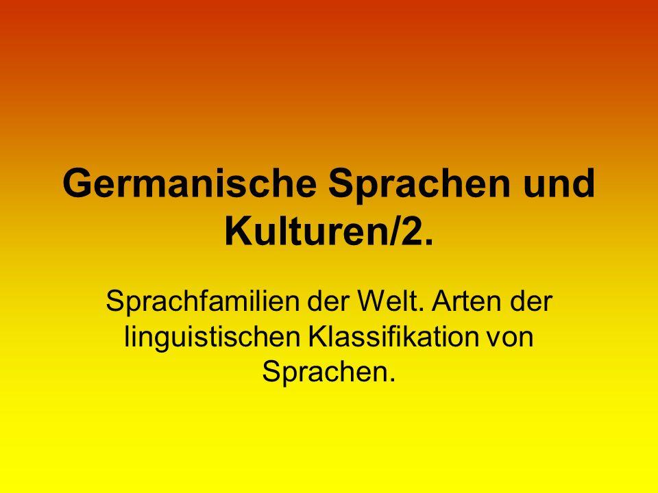 Germanische Sprachen und Kulturen/2.