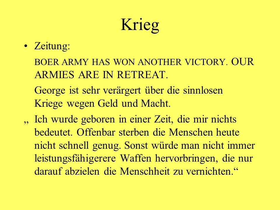 Krieg Zeitung: BOER ARMY HAS WON ANOTHER VICTORY. OUR ARMIES ARE IN RETREAT.