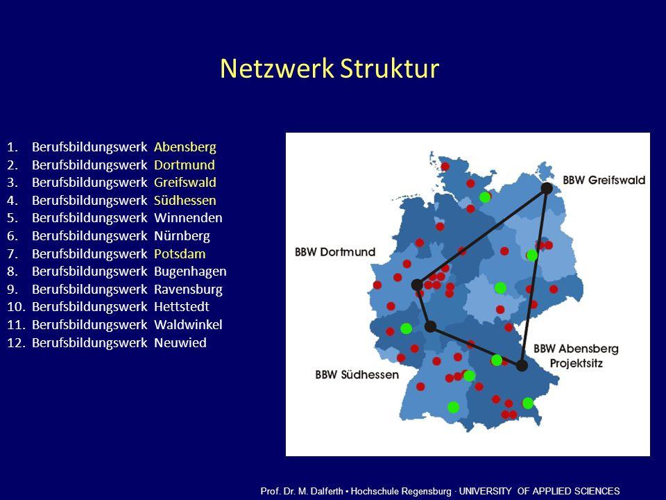 Netzwerk Struktur Berufsbildungswerk Abensberg