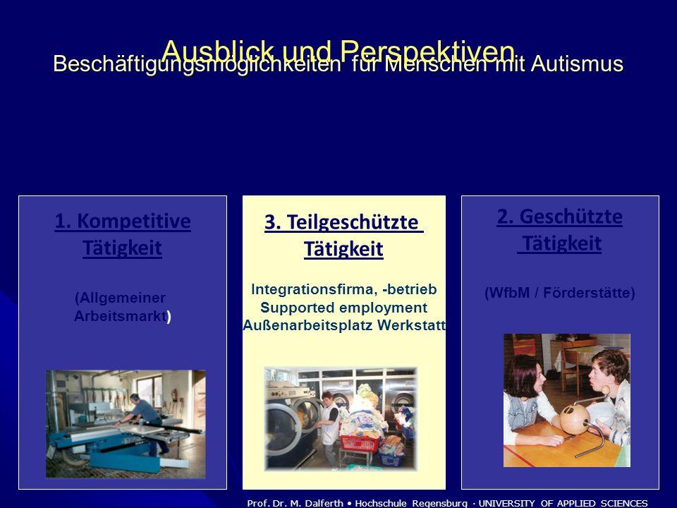 Beschäftigungsmöglichkeiten für Menschen mit Autismus