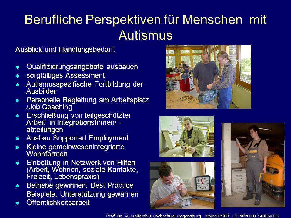 Berufliche Perspektiven für Menschen mit Autismus