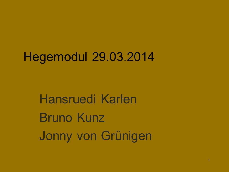 Hansruedi Karlen Bruno Kunz Jonny von Grünigen