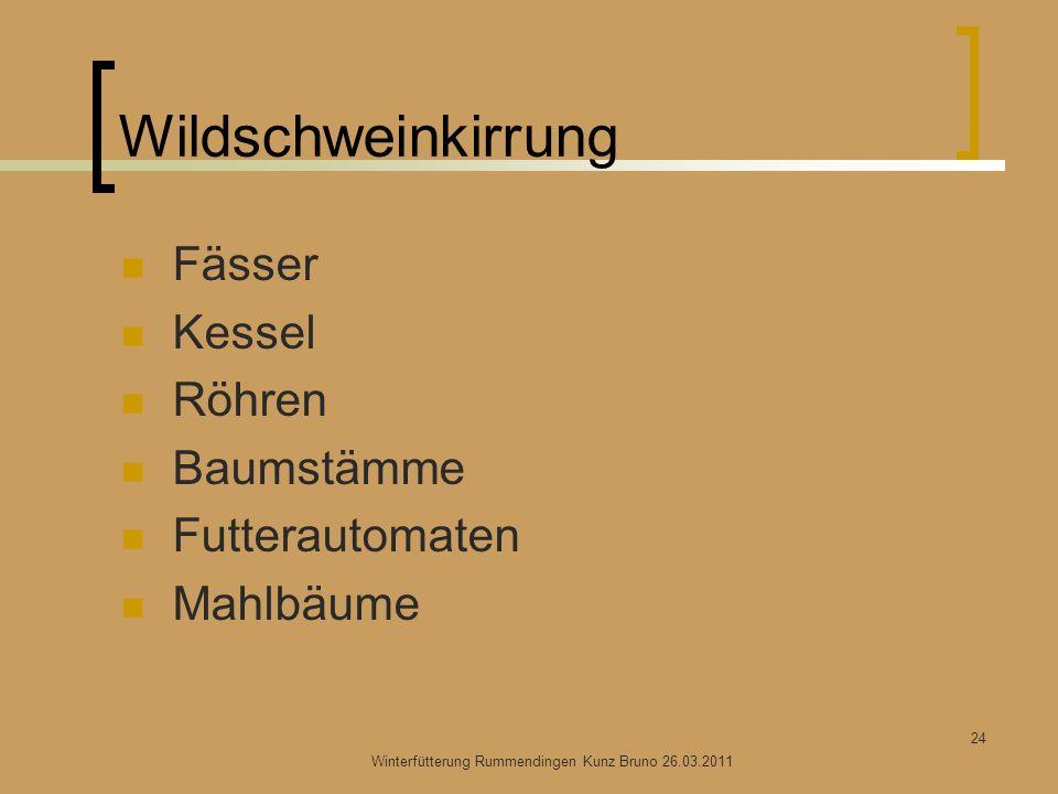 Winterfütterung Rummendingen Kunz Bruno 26.03.2011