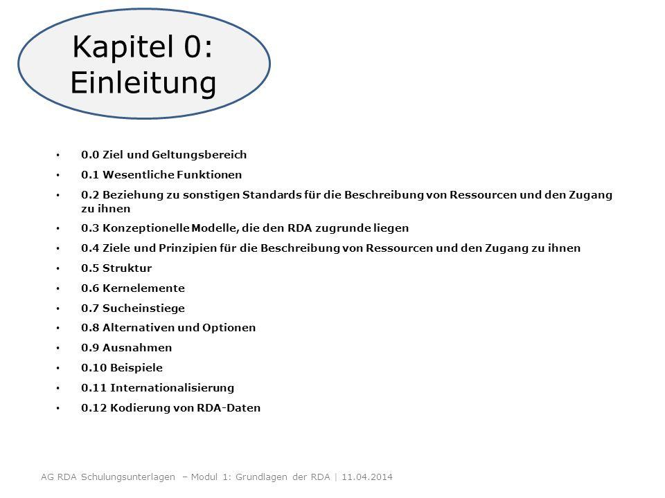 Kapitel 0: Einleitung 0.0 Ziel und Geltungsbereich