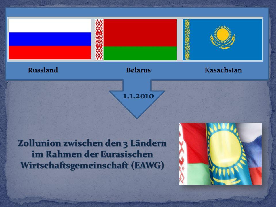 Russland Belarus Kasachstan