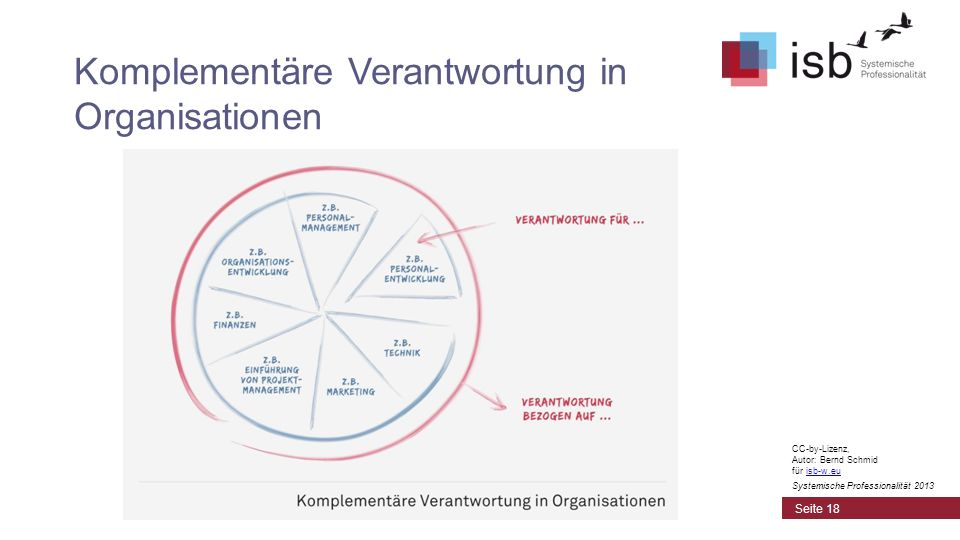 Komplementäre Verantwortung in Organisationen