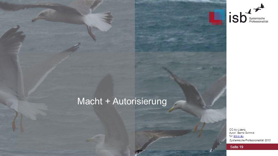 Macht + Autorisierung CC-by-Lizenz, Autor: Bernd Schmid für isb-w.eu