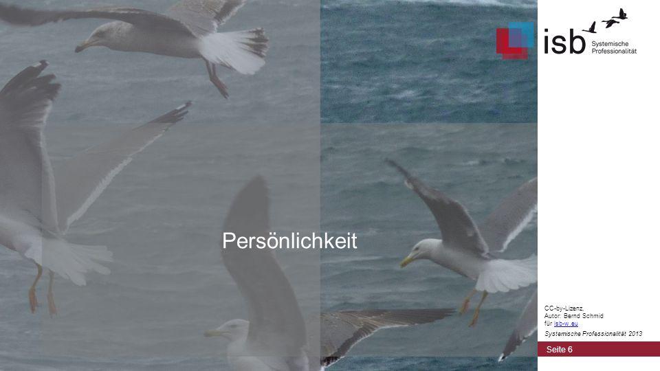 Persönlichkeit CC-by-Lizenz, Autor: Bernd Schmid für isb-w.eu