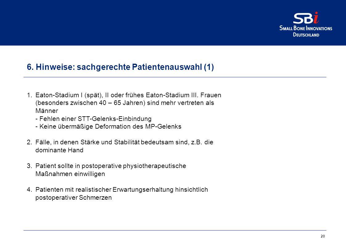5. Artelon CMC Spacer auch für den arthroskopischen Eingriff !