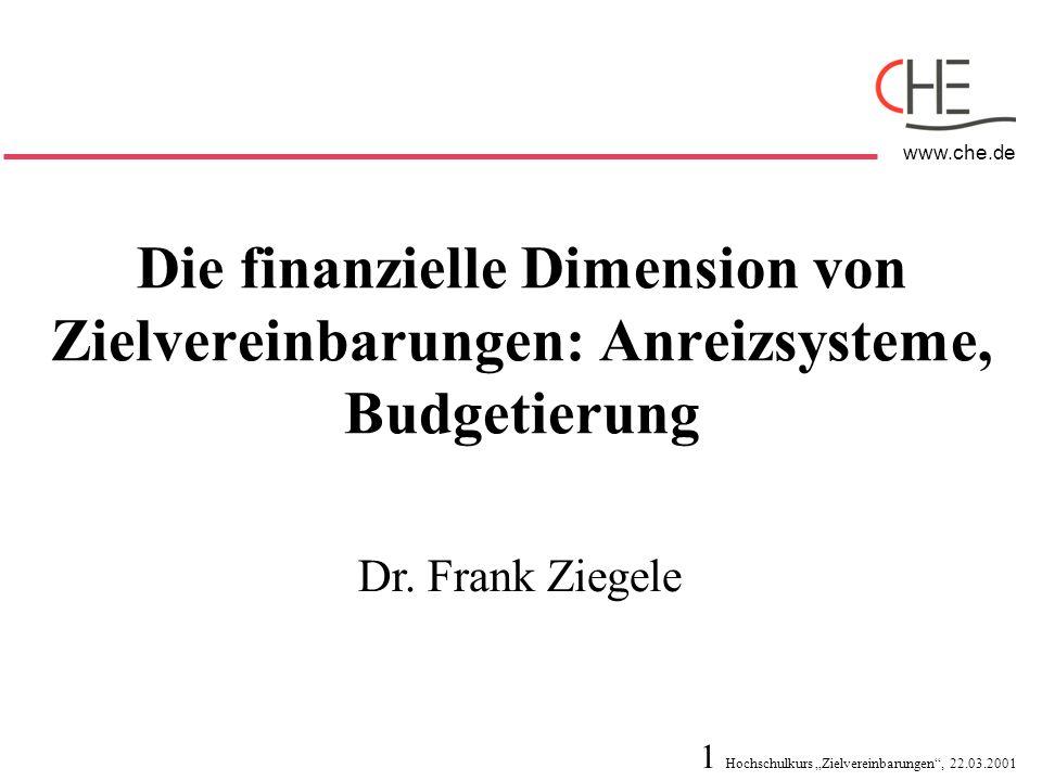 Die finanzielle Dimension von Zielvereinbarungen: Anreizsysteme, Budgetierung