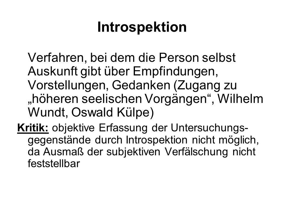 Introspektion