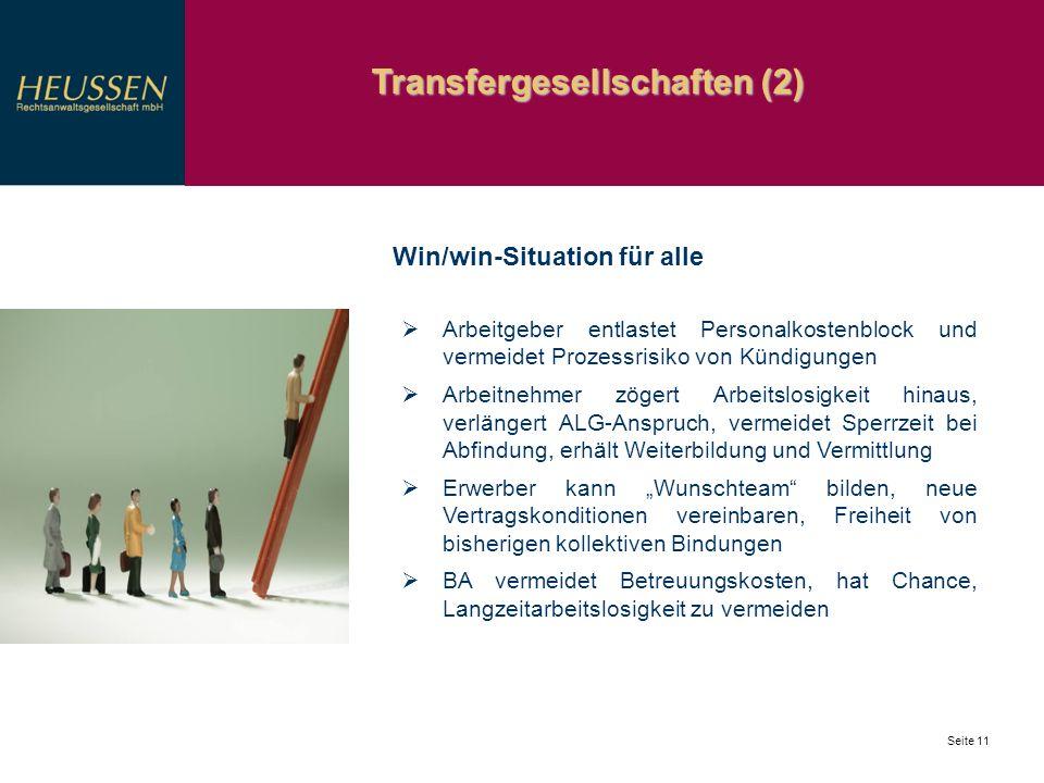 Transfergesellschaften (2)