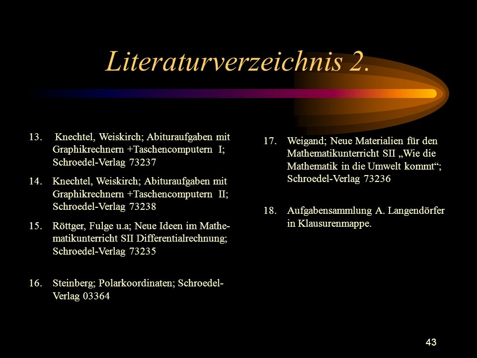 Literaturverzeichnis 2.