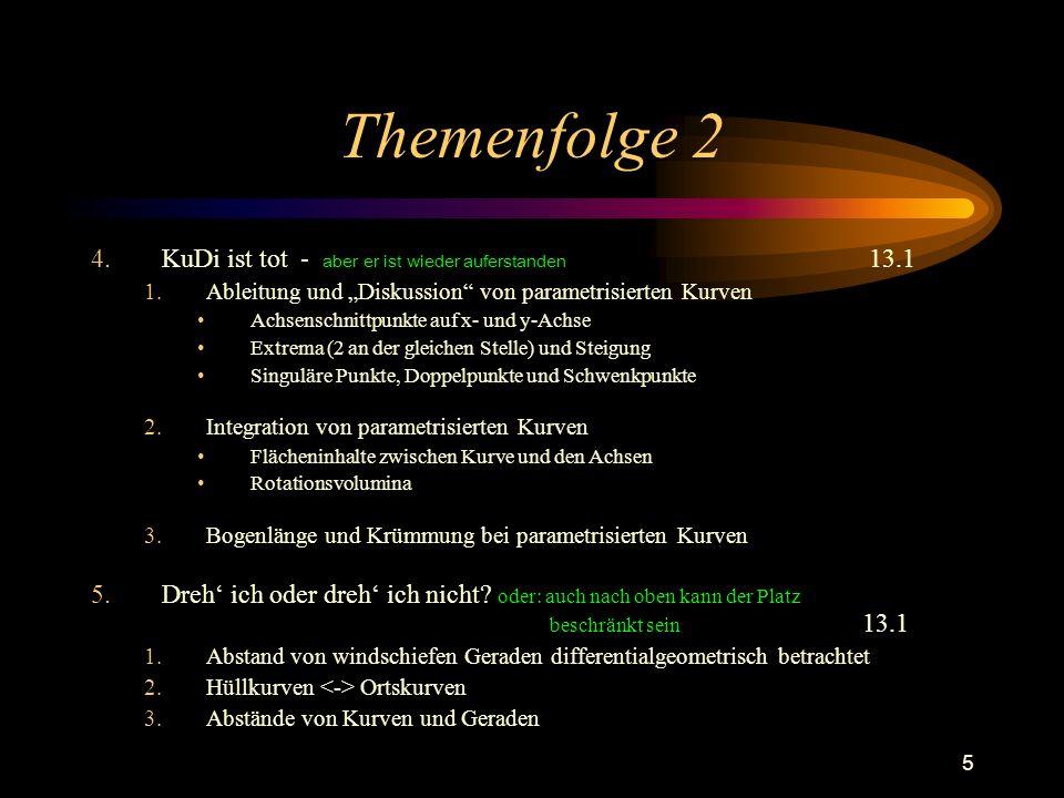 Themenfolge 2 KuDi ist tot - aber er ist wieder auferstanden 13.1
