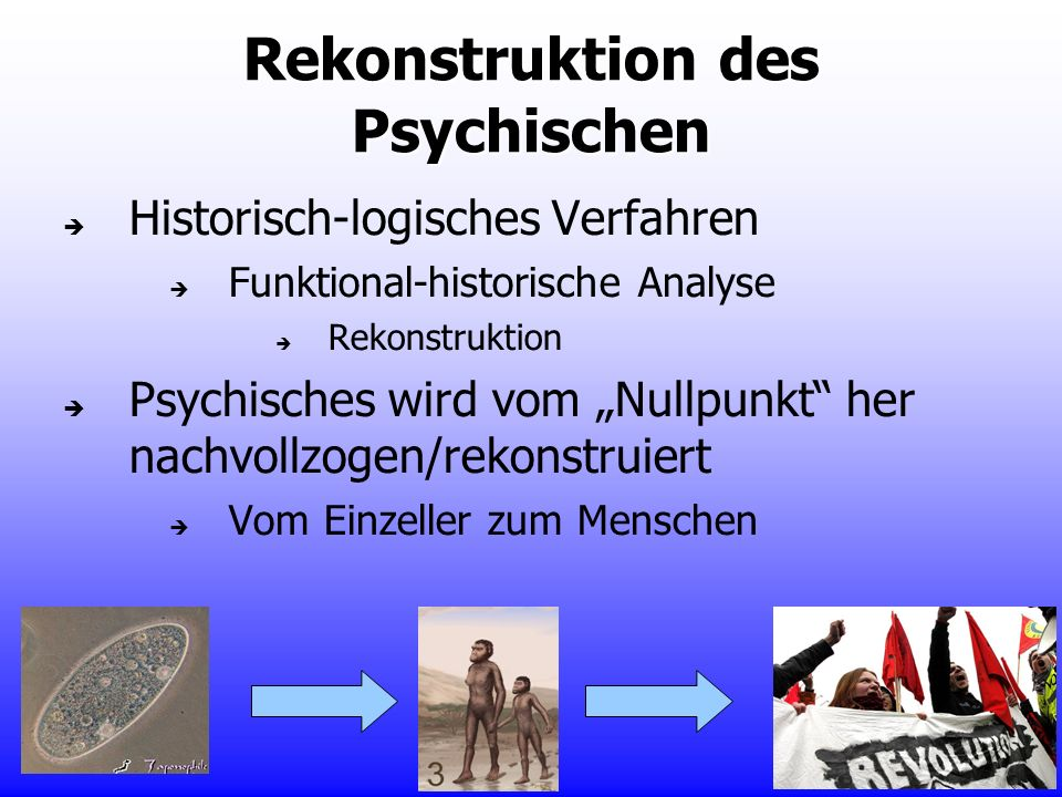Rekonstruktion des Psychischen