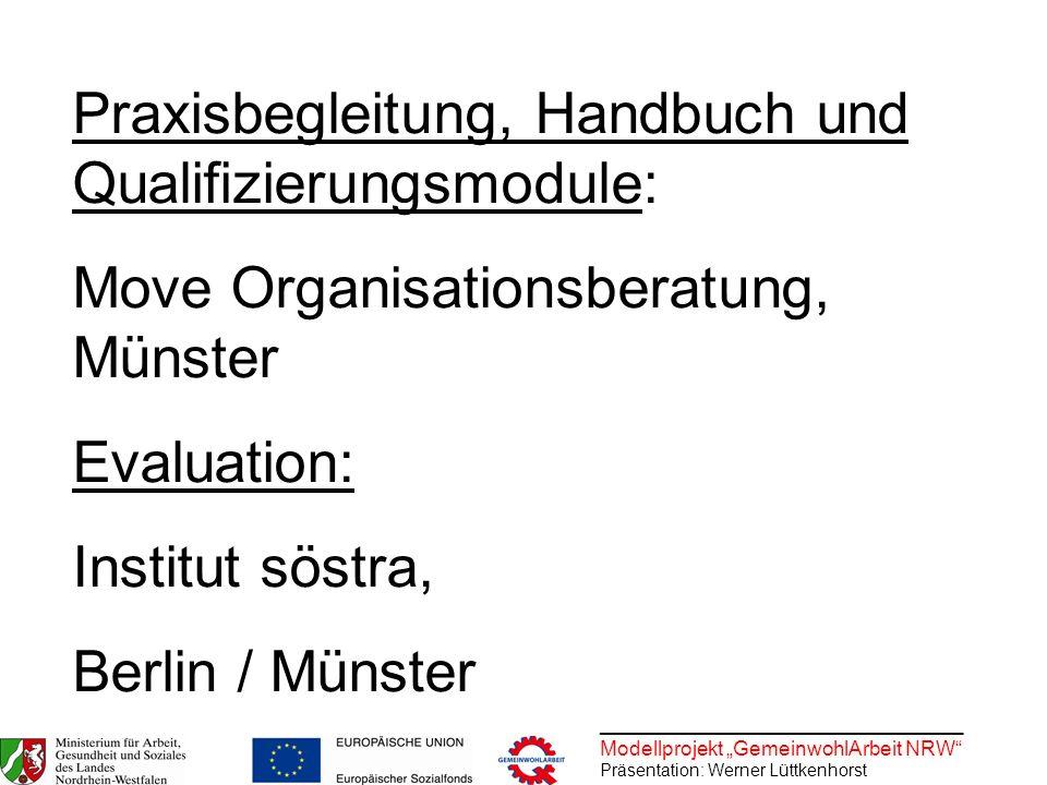 Praxisbegleitung, Handbuch und Qualifizierungsmodule: