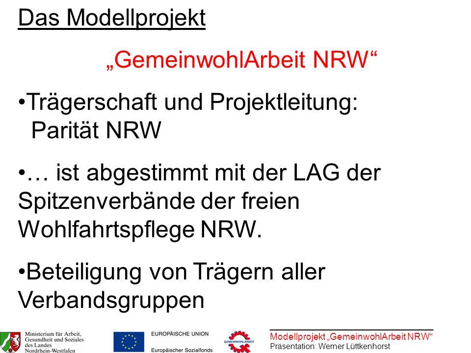 """""""GemeinwohlArbeit NRW"""
