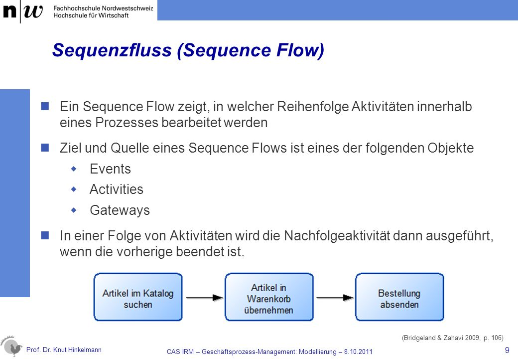 Sequenzfluss (Sequence Flow)