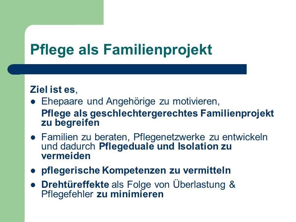 Pflege als Familienprojekt