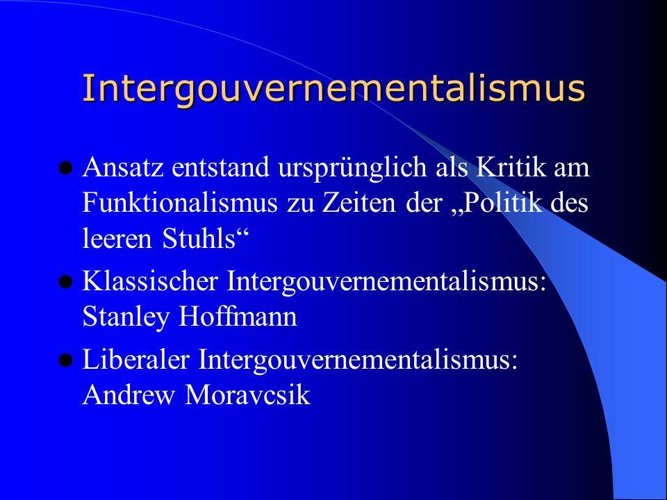 Intergouvernementalismus