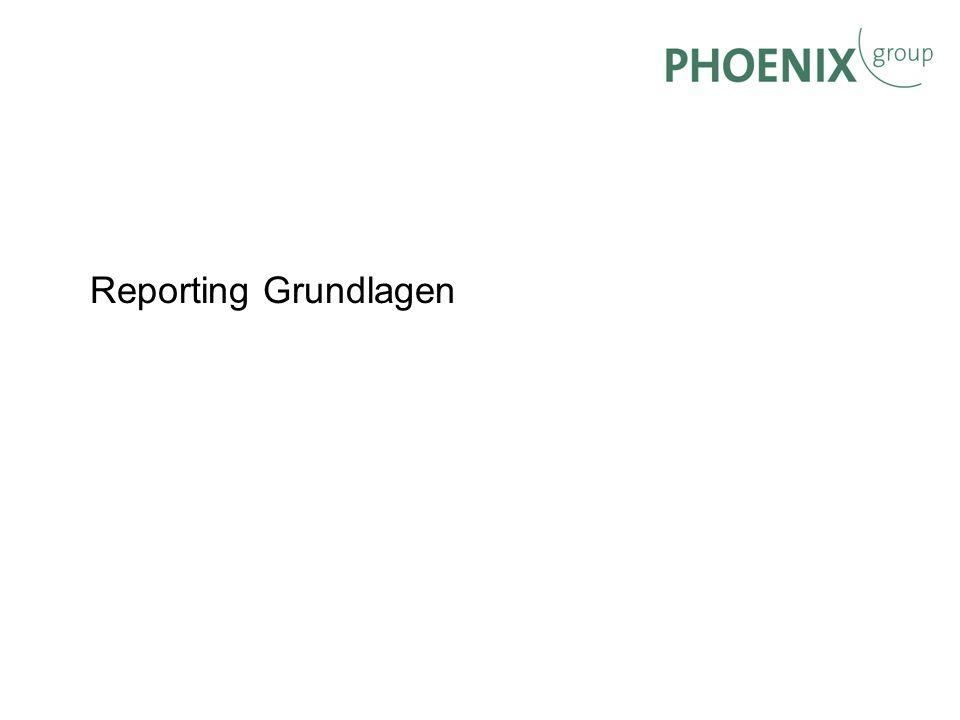 BW Reporting Reporting Grundlagen