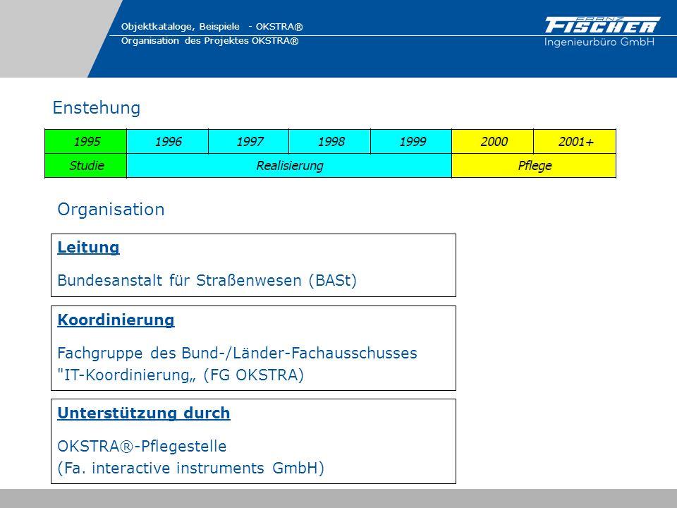 Enstehung Organisation Leitung Bundesanstalt für Straßenwesen (BASt)