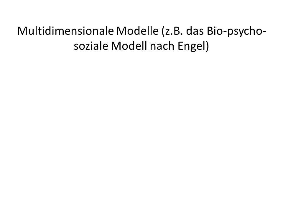 Multidimensionale Modelle (z. B