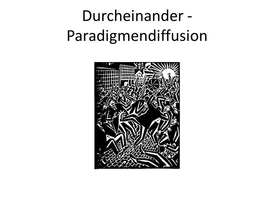 Durcheinander -Paradigmendiffusion
