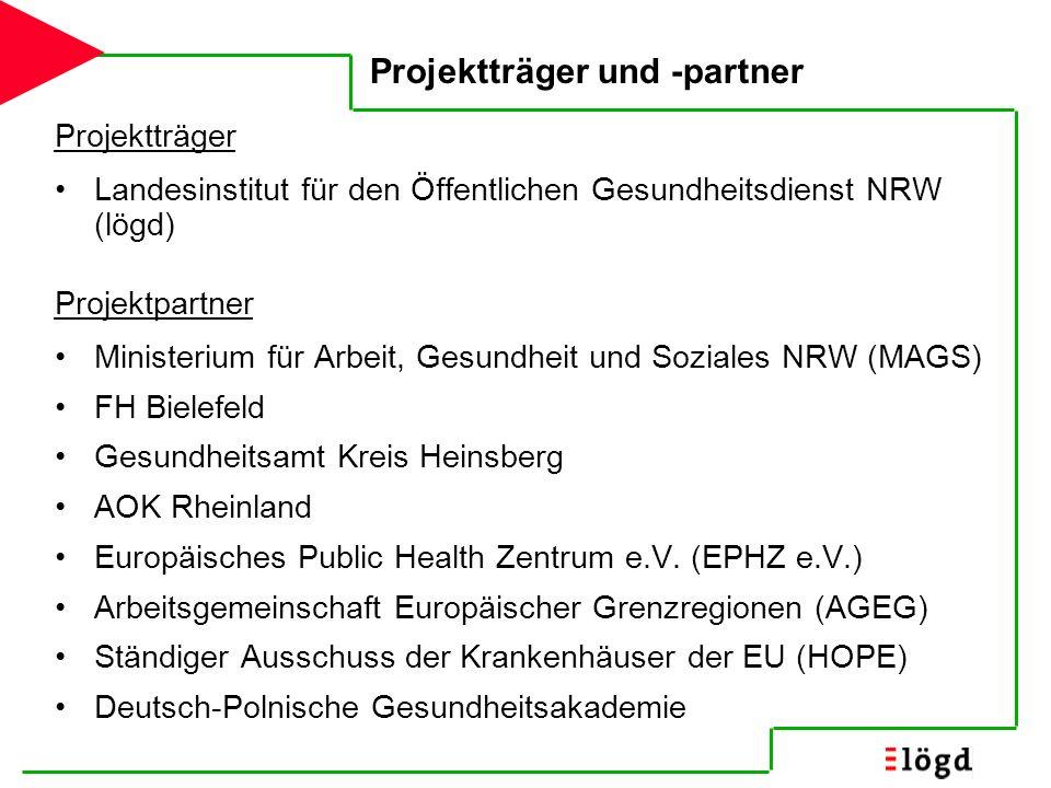 Projektträger und -partner