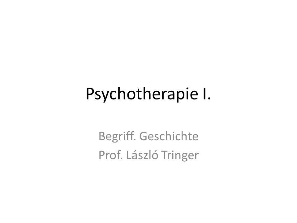 Begriff. Geschichte Prof. László Tringer