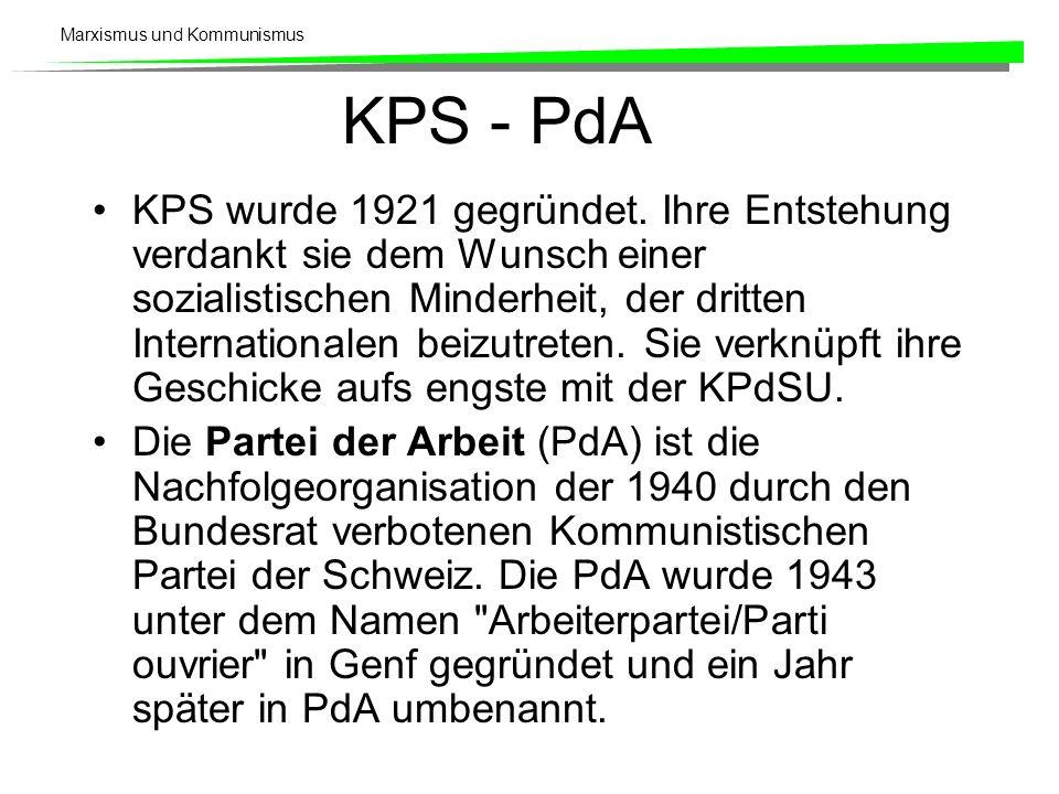 KPS - PdA