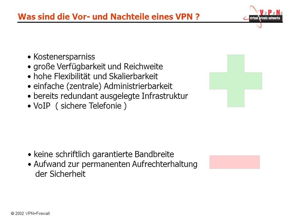 Was sind die Vor- und Nachteile eines VPN