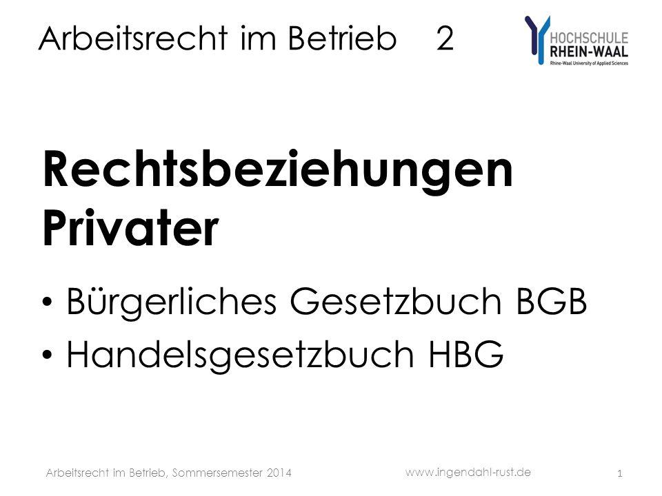 Arbeitsrecht Im Betrieb 2 Ppt Video Online Herunterladen