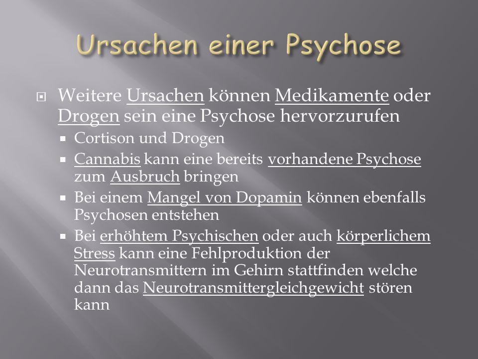 Ursachen einer Psychose