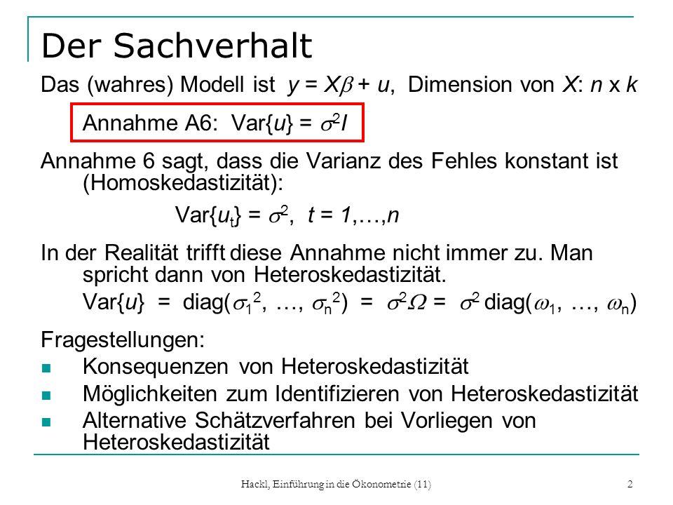 Hackl, Einführung in die Ökonometrie (11)