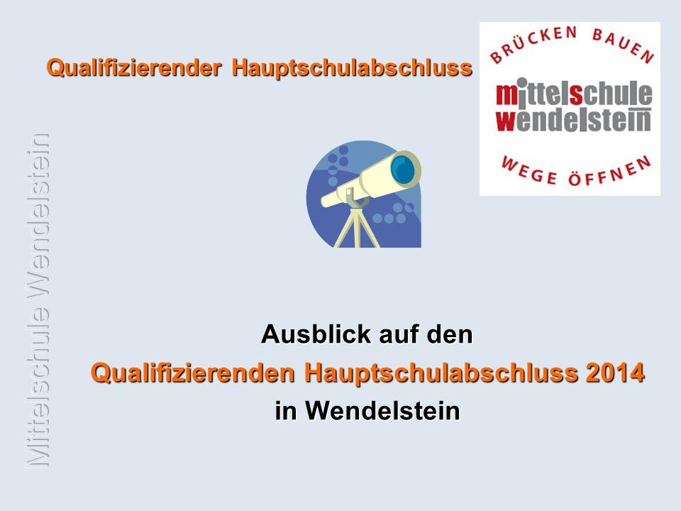 Qualifizierenden Hauptschulabschluss 2014