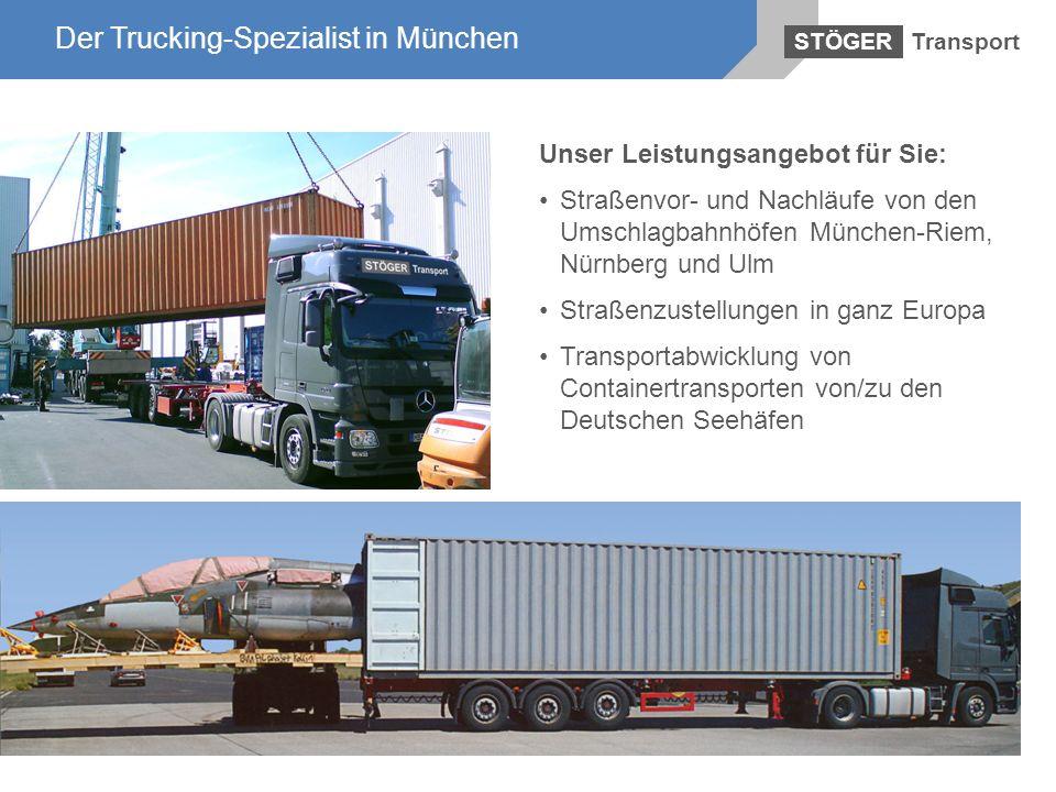 Der Trucking-Spezialist in München Der Trucking-Spezialist in München