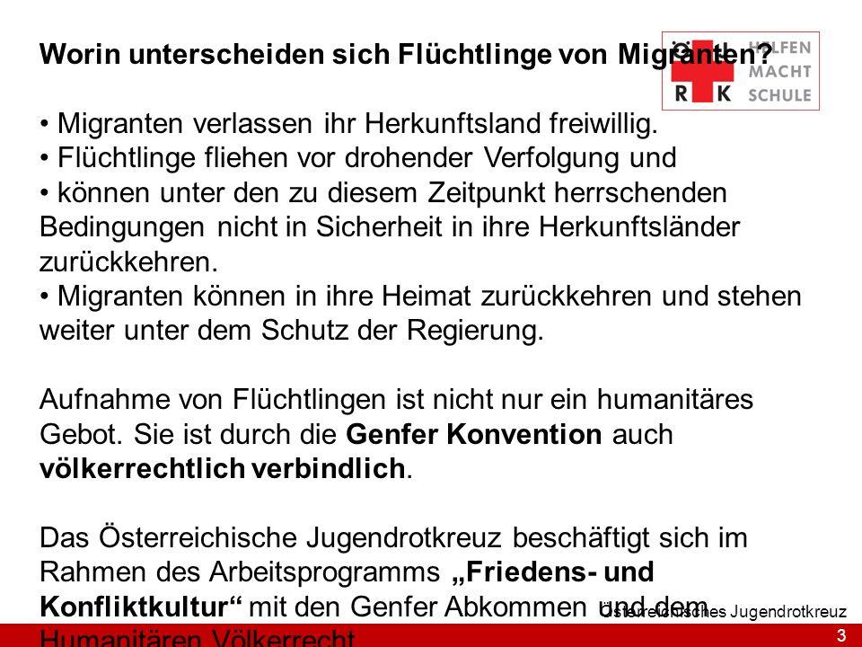 Worin unterscheiden sich Flüchtlinge von Migranten