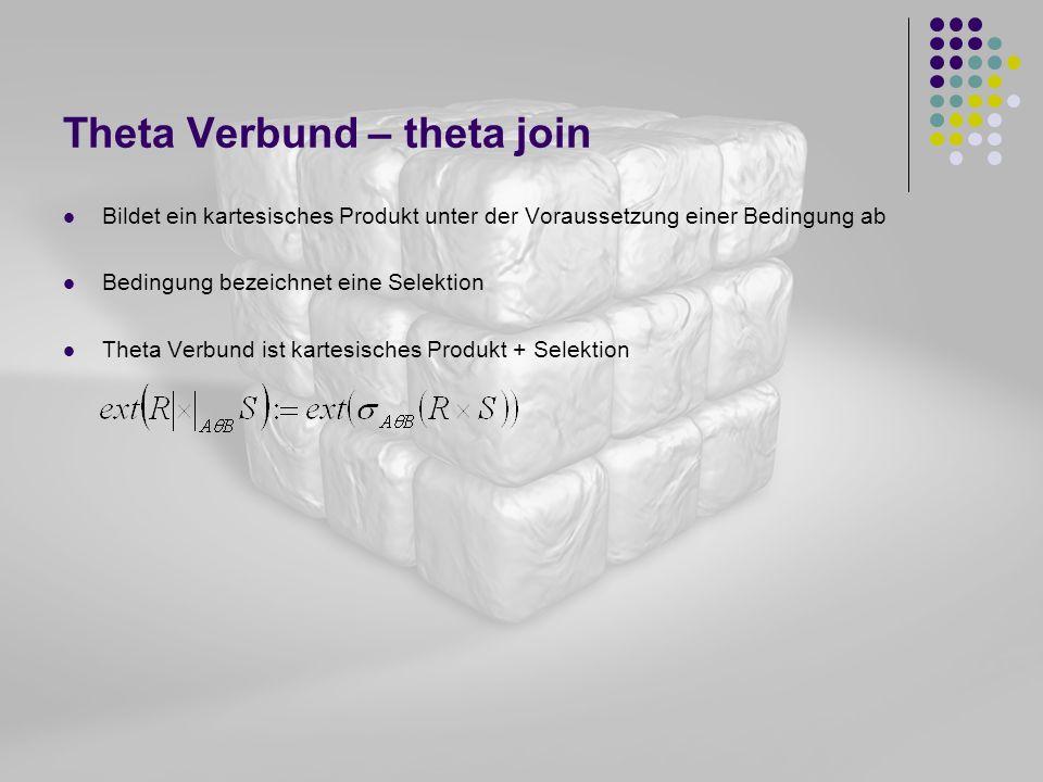 Theta Verbund – theta join