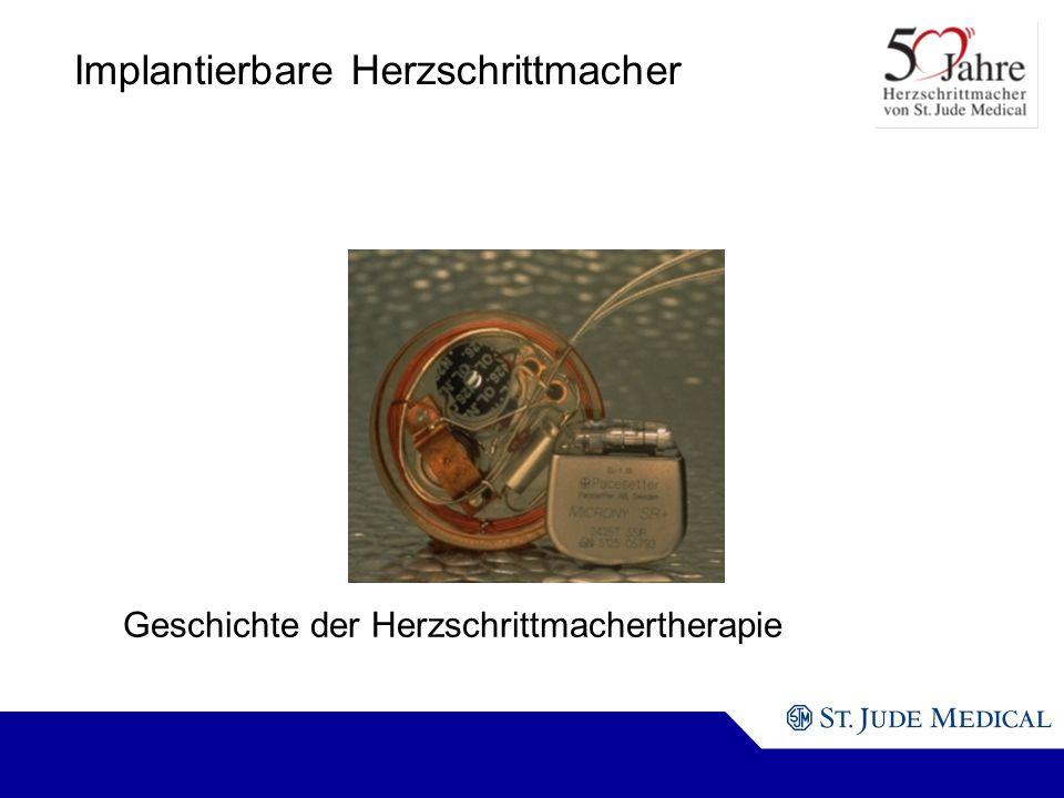 Implantierbare Herzschrittmacher