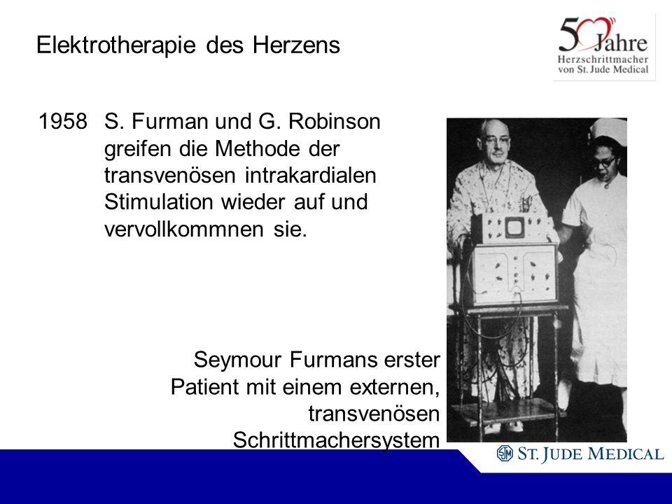 Elektrotherapie des Herzens