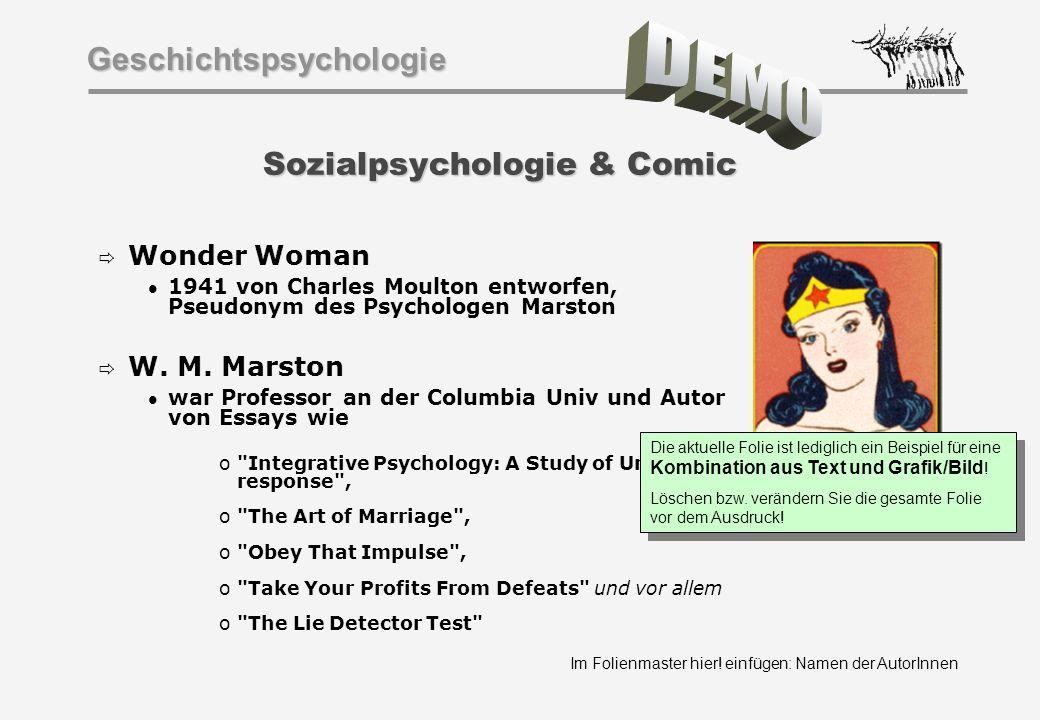 Sozialpsychologie & Comic